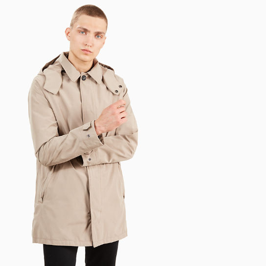Mount Pierce Raincoat for Men in Beige | Timberland