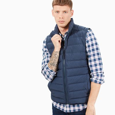 Bear+Head+Weste+f%C3%BCr+Herren+in+Navyblau