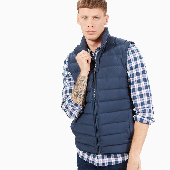 Bear Head Vest for Men in Navy | Timberland