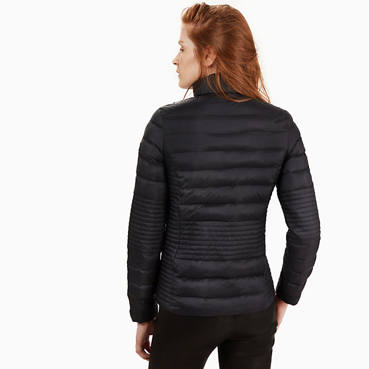 Lightweight Quilted Jack voor Dames in Zwart-