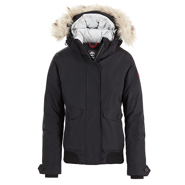 Scar Ridge Short Parka for Women in Black-
