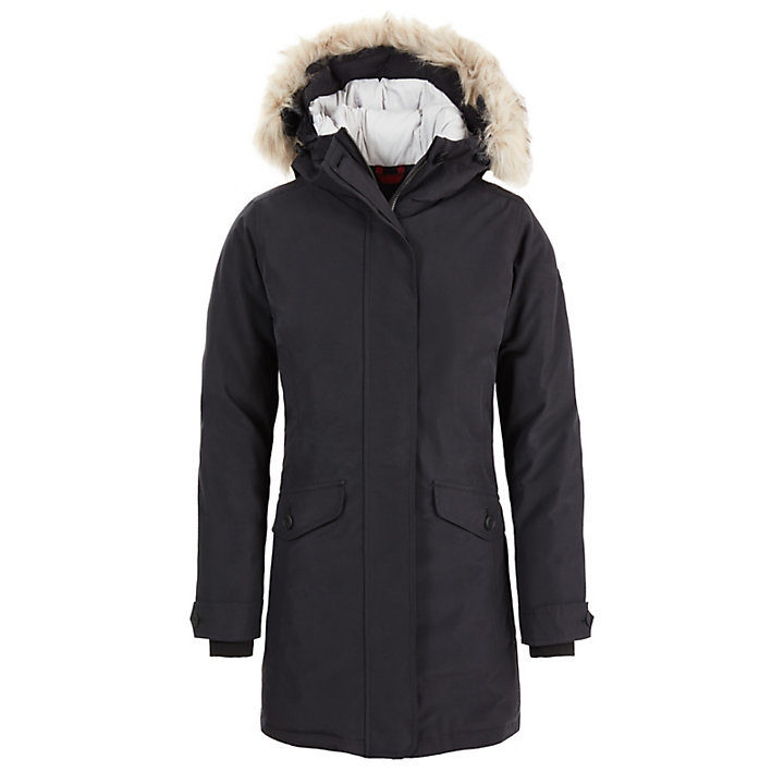 Scar Ridge Waterproof Parka for Women in Black-