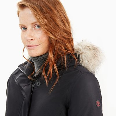 Scar+Ridge+Waterproof+Parka+voor+Dames+in+Zwart