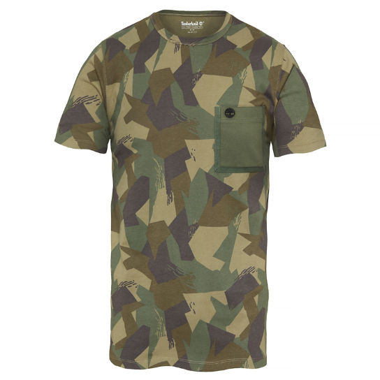 Men's Kennebec River T-Shirt Camouflage | Timberland