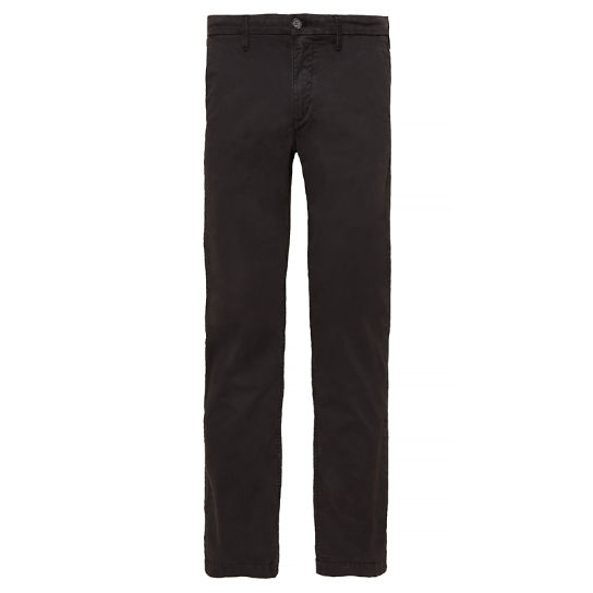 Men's Squam Lake Stretch Chinos Black | Timberland