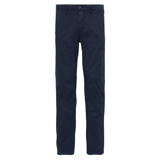 Men's Squam Lake Stretch Chinos Navy | Timberland