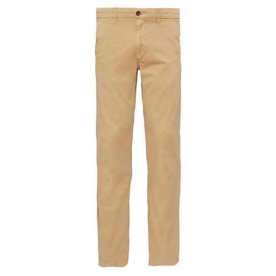 Squam Lake Stretch Chino Heren Kaki | Timberland