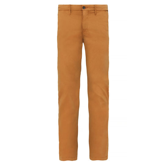 Men's Squam Lake Stretch Chinos Light Brown | Timberland