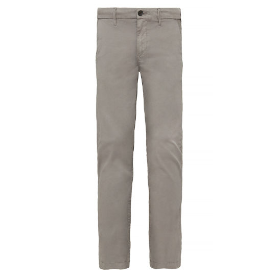 Herren Squam Lake Stretch Chinos Grau | Timberland