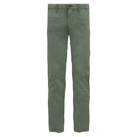 Squam Lake Stretch Chinos Uomo Verde | Timberland