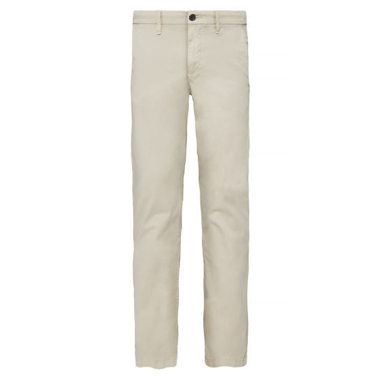 Squam Lake Stretch Chinos Homme Argent | Timberland
