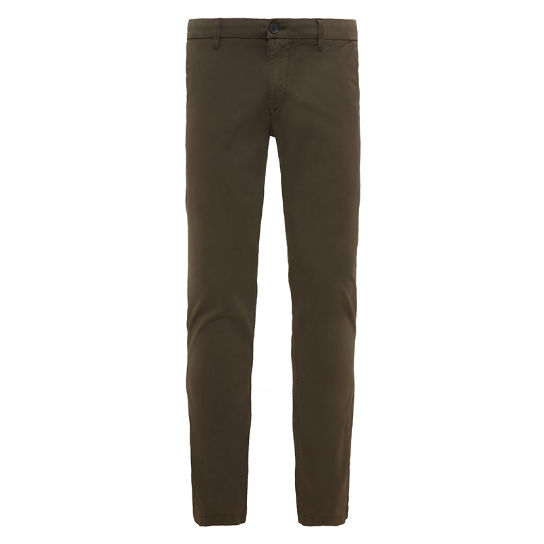 Herren Sargent Lake Stretch Chinos Grün | Timberland