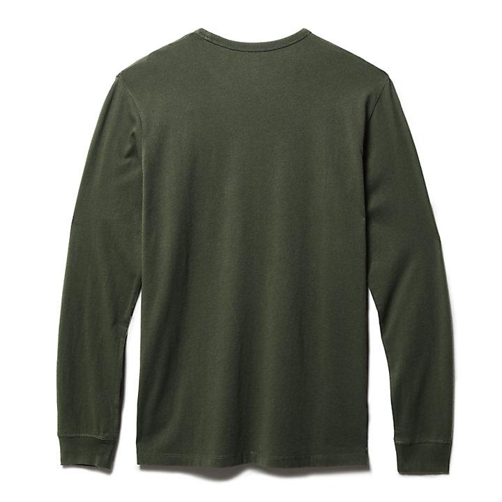 Sweatshirt for Men in Green-
