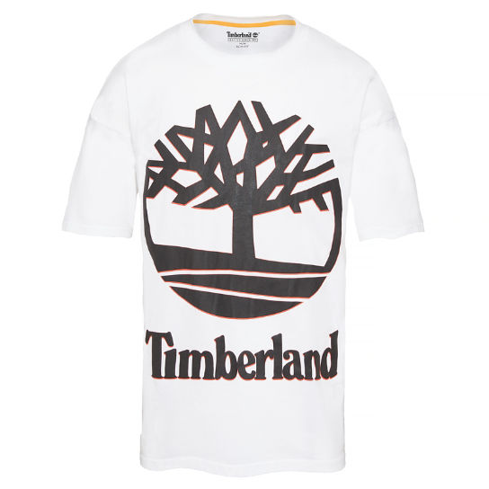 Men's 90's Inspired T-Shirt White | Timberland