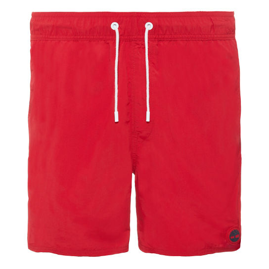 Men's Sunapee Lake Swim Shorts Red | Timberland