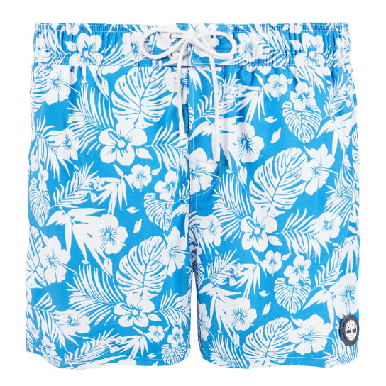 Sunapee Lake Swim Shorts Blauw Heren | Timberland