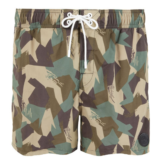 Men's Sunapee Lake Swim Shorts Camouflage | Timberland