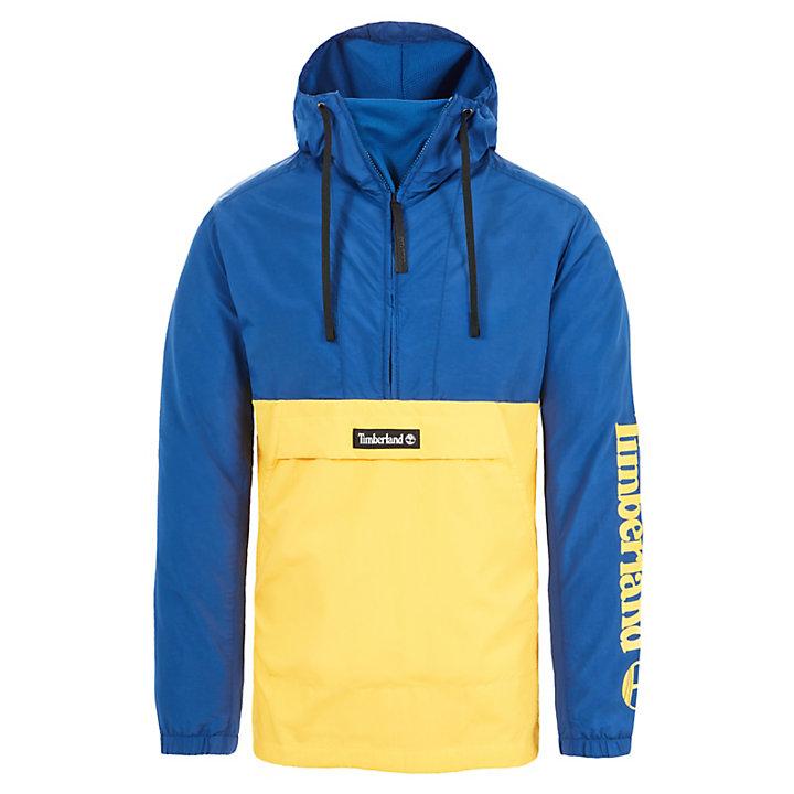 Windbreaker for Men in Yellow/Blue-