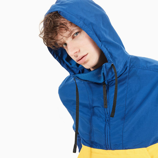 Windbreaker for Men in Yellow/Blue | Timberland