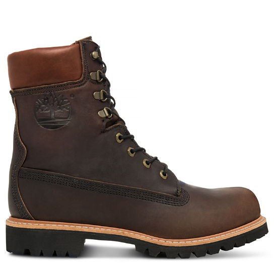 Men's USA-made 8-inch Icon Boot Brown | Timberland