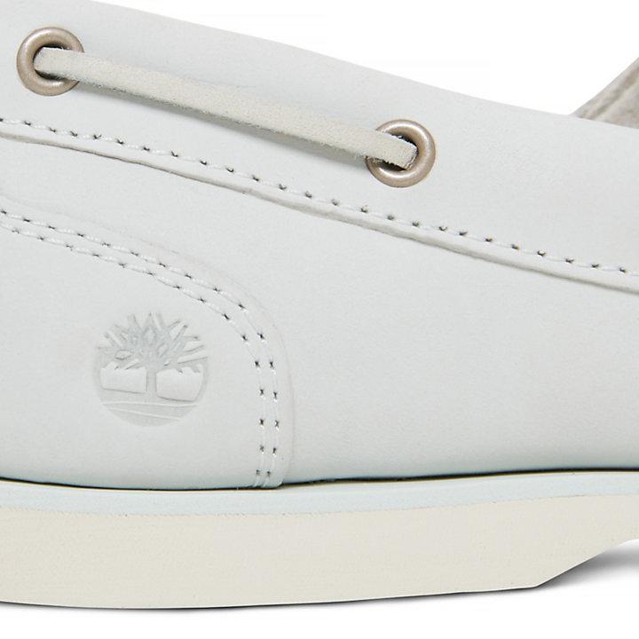 Women's Classic Boat Shoe White-