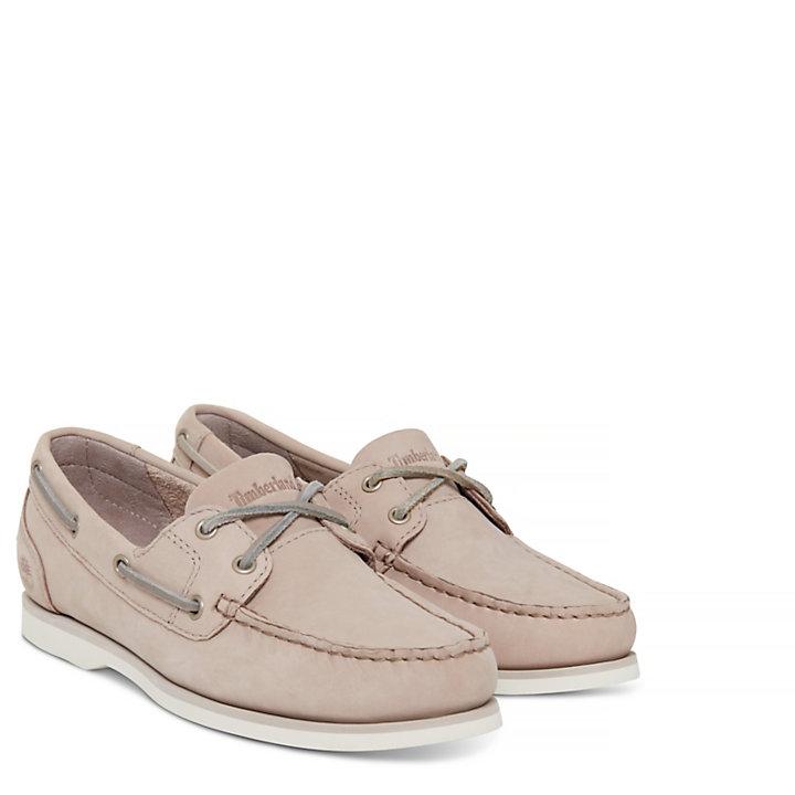 Damen Classic Bootsschuh Taupe-