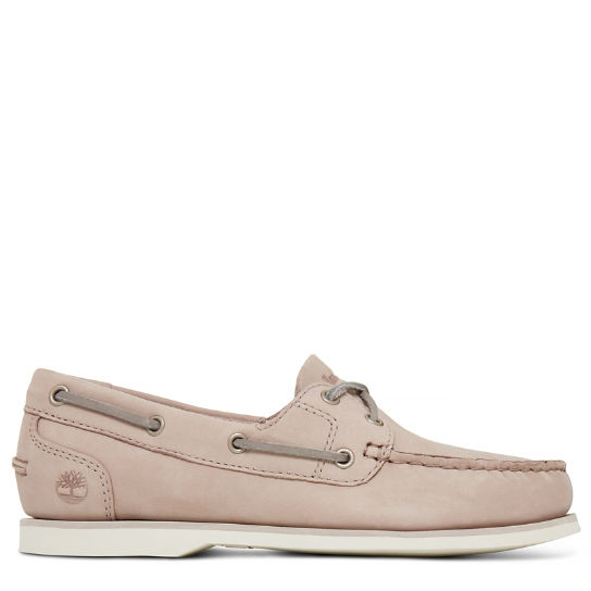Classic Boat Shoe Taupe Dames | Timberland