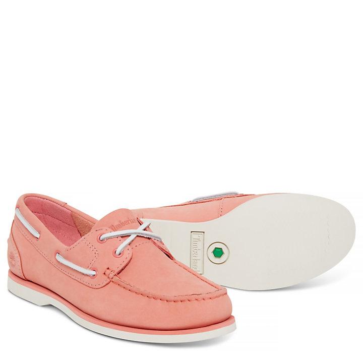 Women's Classic Boat Shoe Pink-