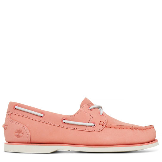 Classic Boat Shoe Femme roses | Timberland