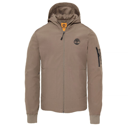 Men's Hooded Jacket Greige | Timberland