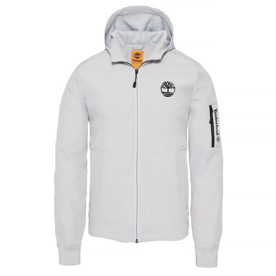 Herren Hooded Jacket Grau | Timberland