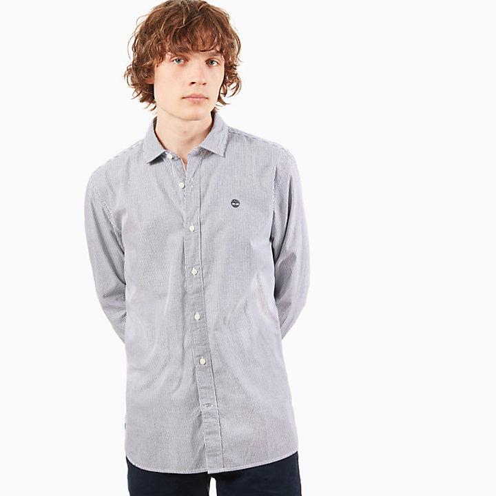 Gestreept Overhemd.Wellfleet Gestreept Overhemd Heren In Marineblauw Timberland