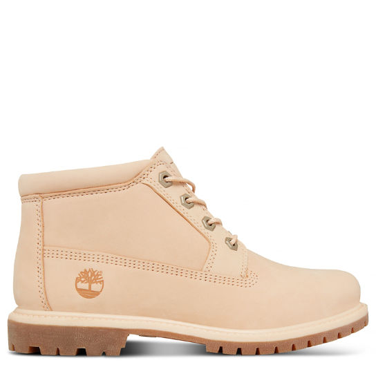 Women's Nellie Waterproof Chukka Pale Pink | Timberland