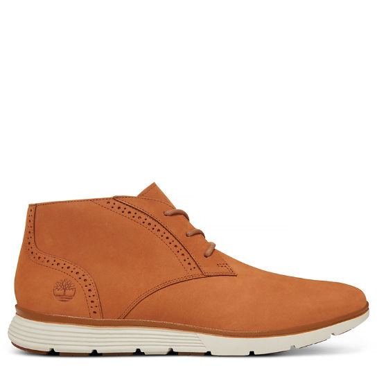 Men's Franklin Park Brogue Chukka Light Brown | Timberland