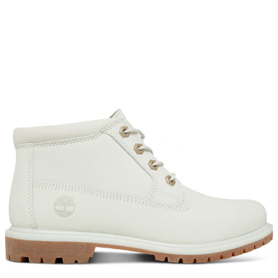 Women's Nellie Waterproof Chukka White | Timberland