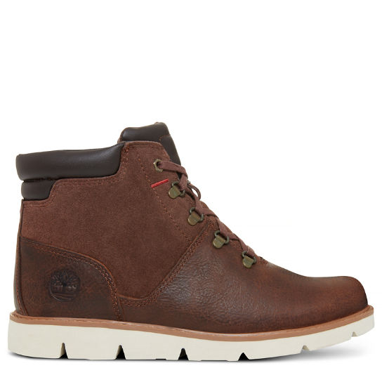 Junior Prescott Park Hiker Boot Vintage Brown | Timberland