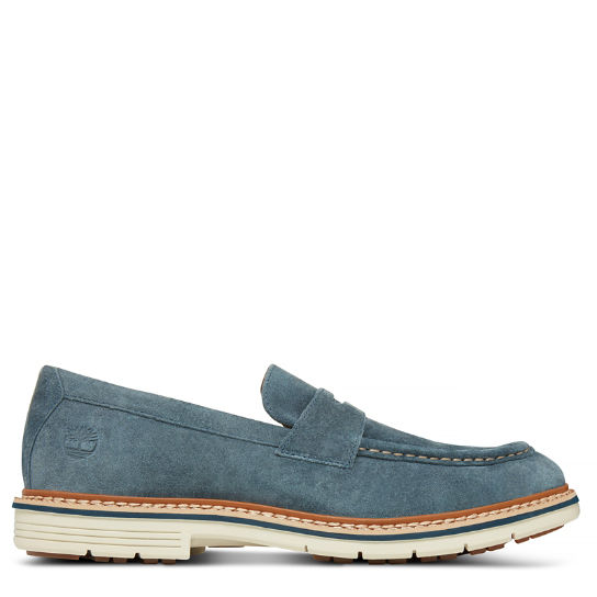 Men's Naples Trail Penny Loafer Navy | Timberland