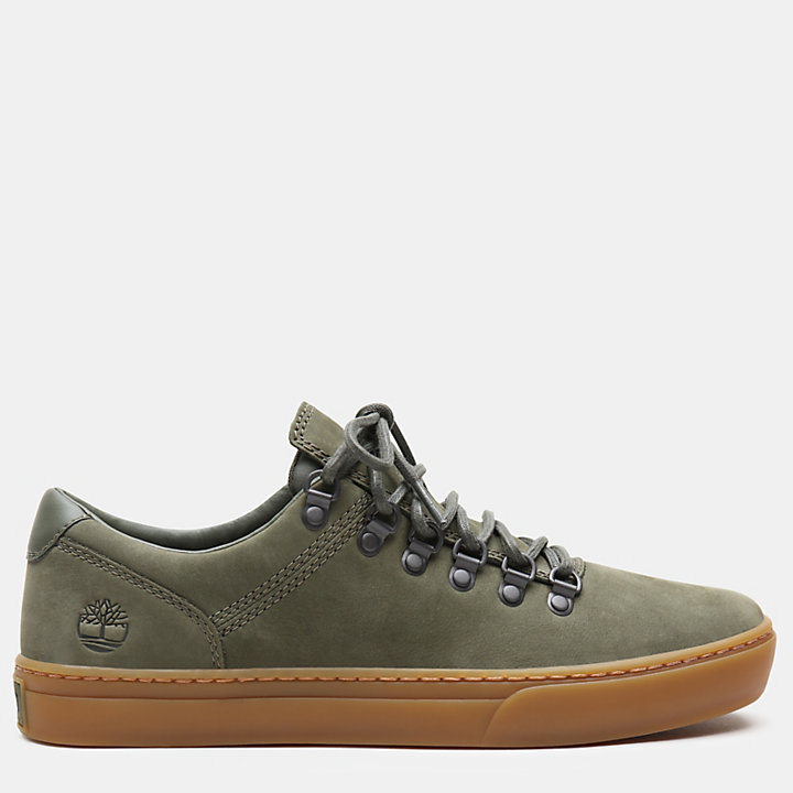 Adventure 2.0 Alpine Oxford for Men in Green Nubuck-