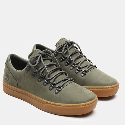 Adventure+2.0+Alpine+Oxford+for+Men+in+Green+Nubuck