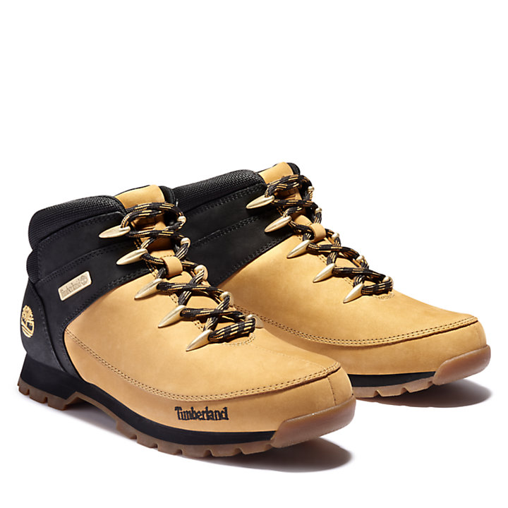 Euro Sprint Mid Hiker for Men in Yellow/Black-