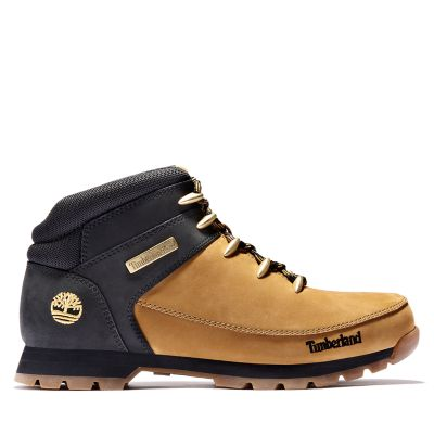 Euro+Sprint+Mid+Hiker+for+Men+in+Yellow%2FBlack
