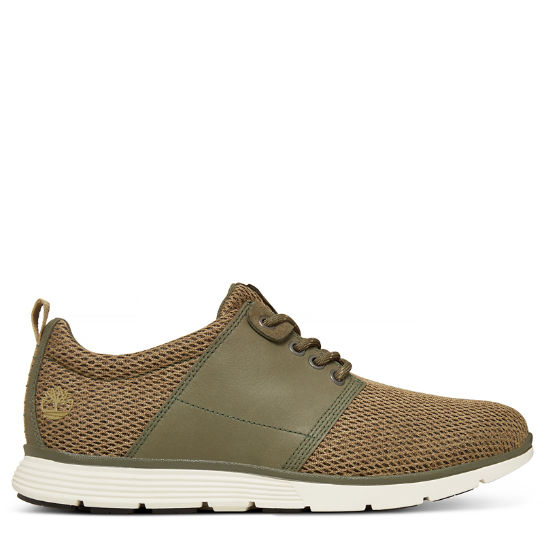 Killington Leather/Fabric Trainer Homme Vert | Timberland