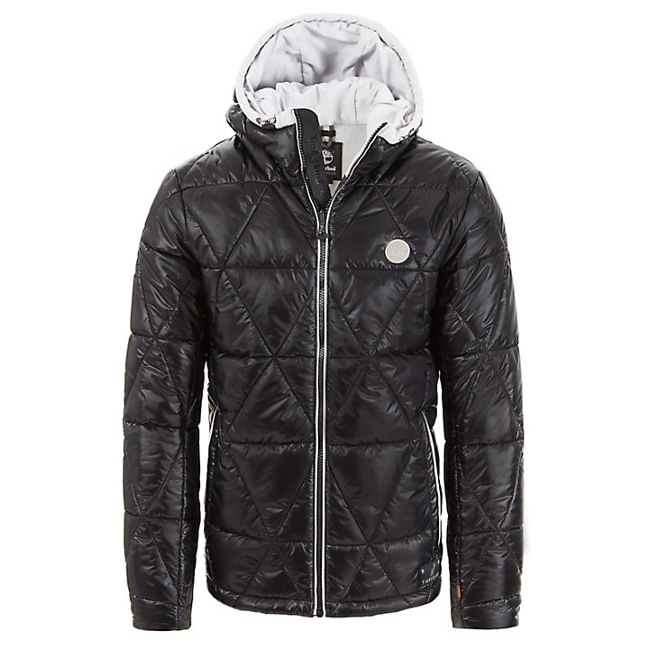 Mount Garfield Hooded Jacket for Men in Black-