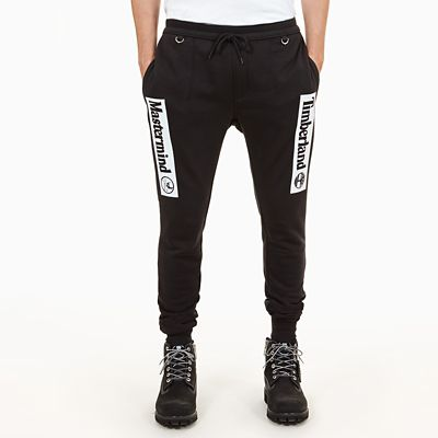 Timberland%C2%AE+x+Mastermind+Tracksuit+Bottoms+for+Men+in+Black