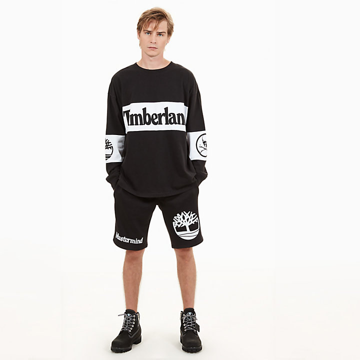 Timberland® x mastermind LS T-Shirt for Men in Black-