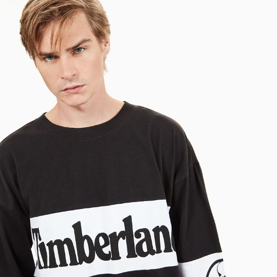Timberland® x mastermind LS T-Shirt for Men in Black | Timberland
