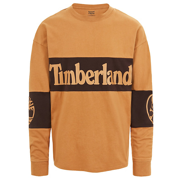 Timberland® x mastermind LS T-Shirt for Men in Yellow-
