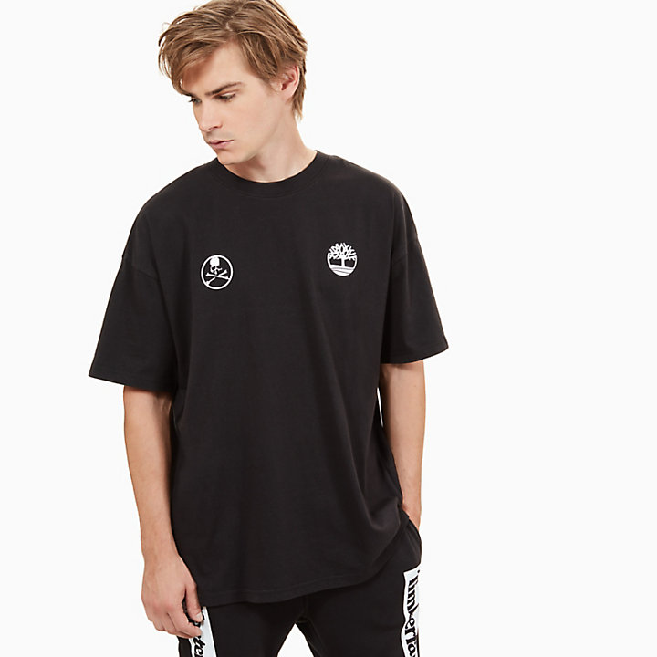 Timberland® x mastermind T-Shirt for Men in Black-
