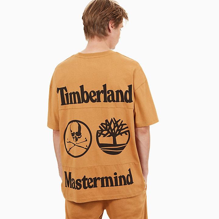 Camiseta Timberland® x mastermind para Hombre en Amarillo-