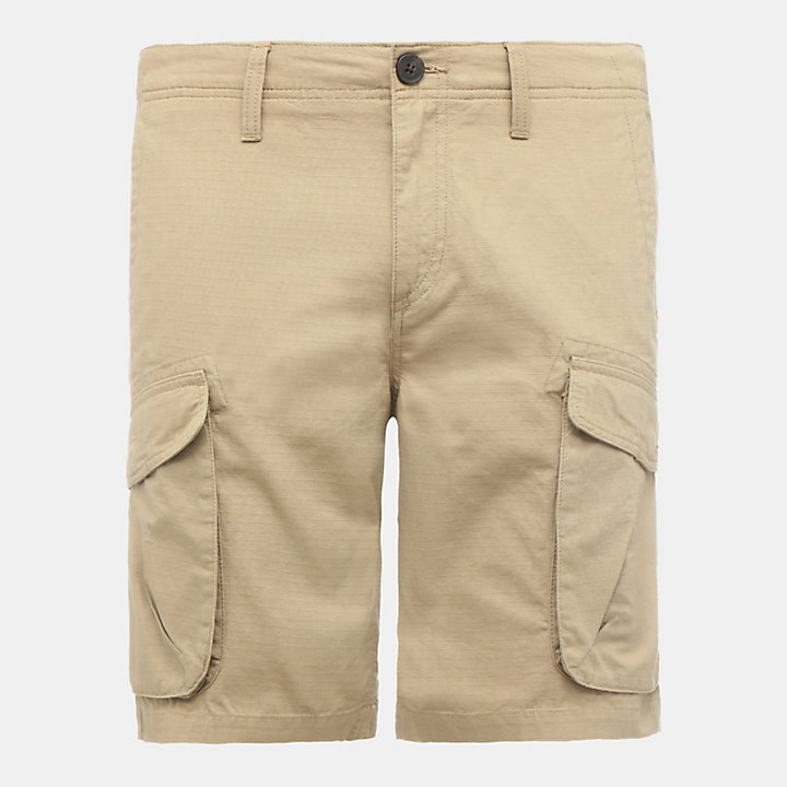 Webster Lake Cargo Shorts for Men in Khaki-